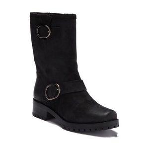 Michael Kors Rosario Moto Leather Boot - 9 NWOT